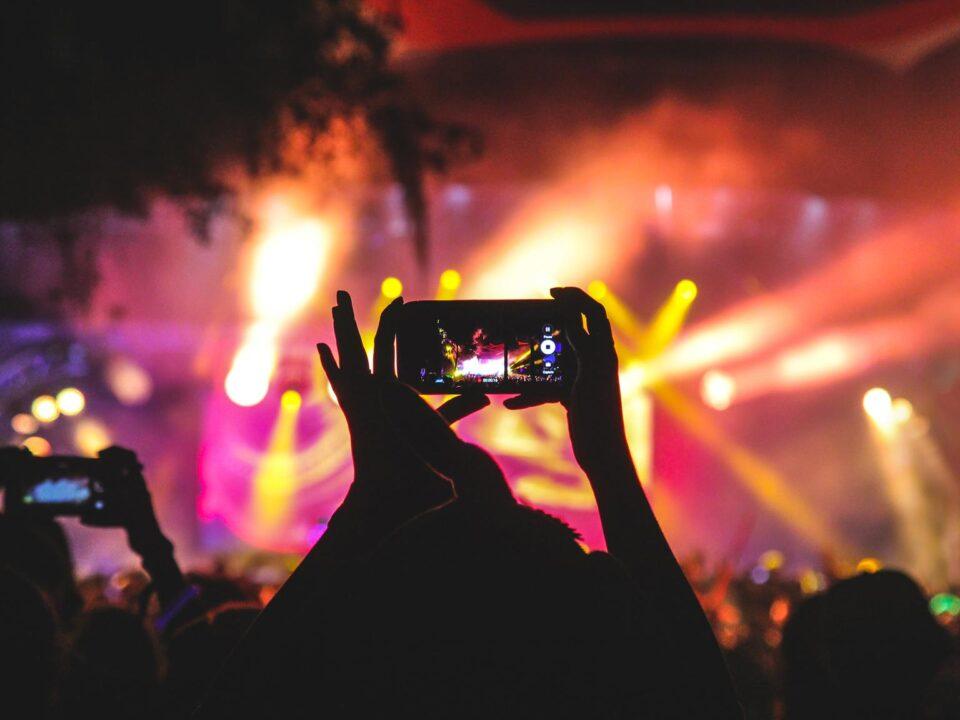 Immagine di un concerto