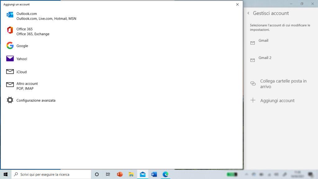 Configurare la casella di posta su Windows parte 2